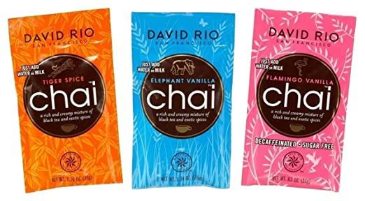 Probierpackung Chai-Tee David Rio